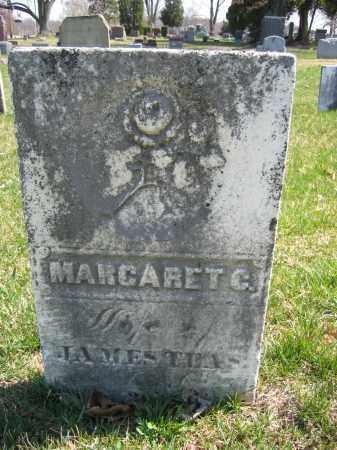 TEAS, MARGARET C. - Union County, Ohio   MARGARET C. TEAS - Ohio Gravestone Photos
