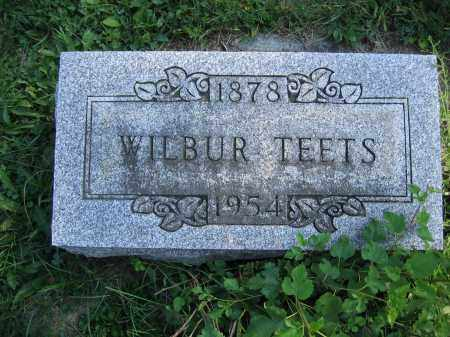 TEETS, WILBUR - Union County, Ohio | WILBUR TEETS - Ohio Gravestone Photos