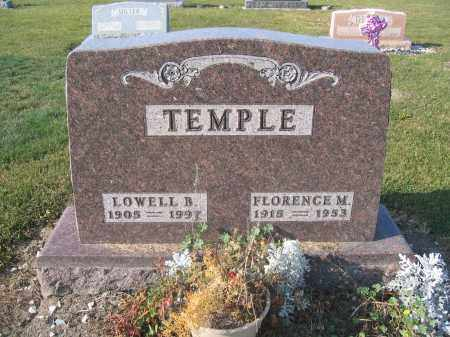TEMPLE, FLORENCE M - Union County, Ohio | FLORENCE M TEMPLE - Ohio Gravestone Photos