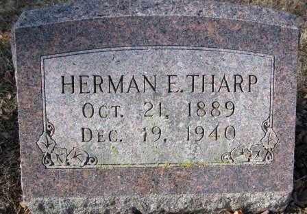 THARP, HERMAN E. - Union County, Ohio   HERMAN E. THARP - Ohio Gravestone Photos