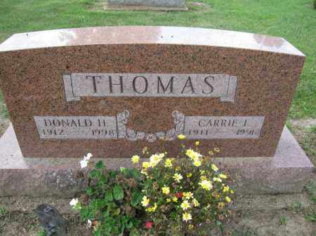 THOMAS, DONALD H. - Union County, Ohio | DONALD H. THOMAS - Ohio Gravestone Photos