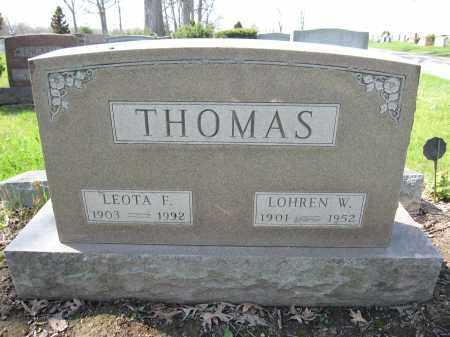THOMAS, LEOTA F. - Union County, Ohio   LEOTA F. THOMAS - Ohio Gravestone Photos