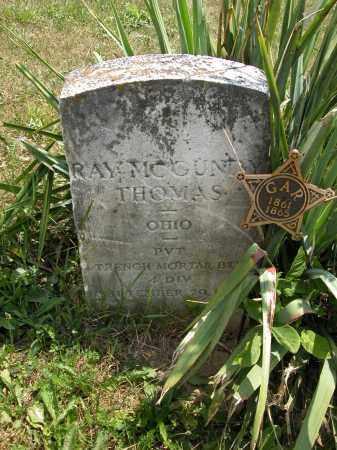 THOMAS, RAY MCGUNDY - Union County, Ohio | RAY MCGUNDY THOMAS - Ohio Gravestone Photos