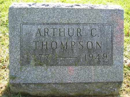 THOMPSON, ARTHUR C. - Union County, Ohio | ARTHUR C. THOMPSON - Ohio Gravestone Photos
