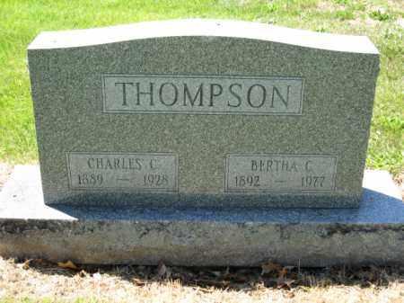 THOMPSON, BERTHA C. - Union County, Ohio   BERTHA C. THOMPSON - Ohio Gravestone Photos
