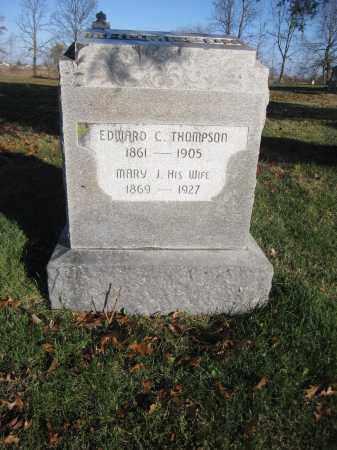 THOMPSON, MARY J. - Union County, Ohio | MARY J. THOMPSON - Ohio Gravestone Photos