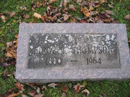 THOMPSON, EDNA B. - Union County, Ohio | EDNA B. THOMPSON - Ohio Gravestone Photos