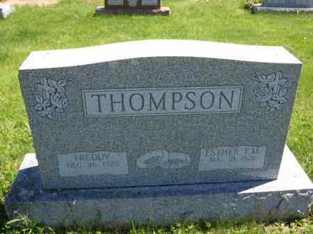 THOMPSON, ESTHER T.M. - Union County, Ohio   ESTHER T.M. THOMPSON - Ohio Gravestone Photos