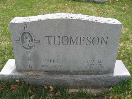 THOMPSON, IDA M. HOFFMAN - Union County, Ohio | IDA M. HOFFMAN THOMPSON - Ohio Gravestone Photos