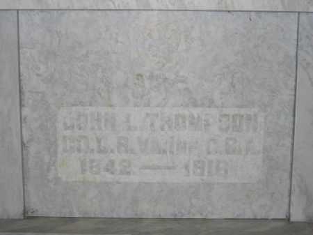 THOMPSON, JOHN L. - Union County, Ohio | JOHN L. THOMPSON - Ohio Gravestone Photos