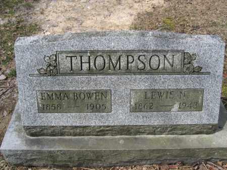 THOMPSON, EMMA BOWEN - Union County, Ohio | EMMA BOWEN THOMPSON - Ohio Gravestone Photos