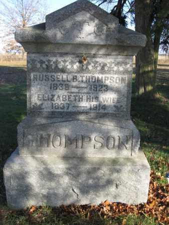 THOMPSON, RUSSELL B. - Union County, Ohio   RUSSELL B. THOMPSON - Ohio Gravestone Photos