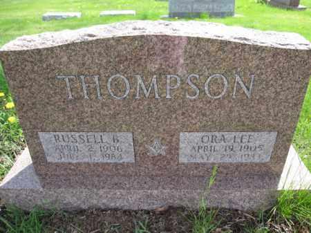 THOMPSON, RUSSELL B. - Union County, Ohio | RUSSELL B. THOMPSON - Ohio Gravestone Photos