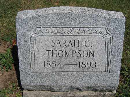 THOMPSON, SARAH C. - Union County, Ohio | SARAH C. THOMPSON - Ohio Gravestone Photos