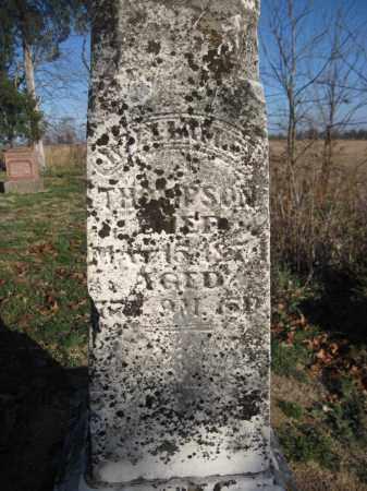 THOMPSON, WILLIAM C. - Union County, Ohio | WILLIAM C. THOMPSON - Ohio Gravestone Photos
