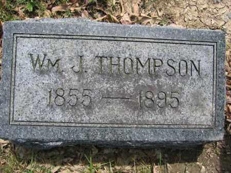 THOMPSON, WILLIAM J. - Union County, Ohio   WILLIAM J. THOMPSON - Ohio Gravestone Photos