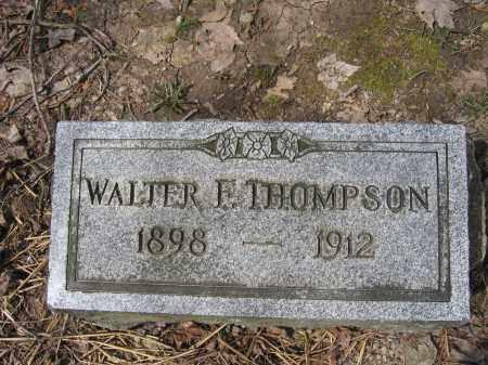 THOMPSON, WALTER F. - Union County, Ohio | WALTER F. THOMPSON - Ohio Gravestone Photos