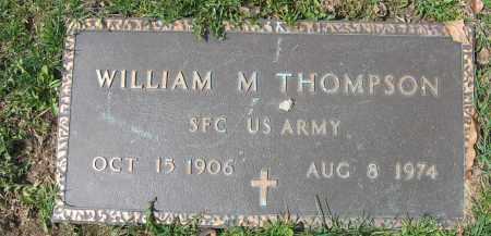 THOMPSON, WILLIAM M. - Union County, Ohio   WILLIAM M. THOMPSON - Ohio Gravestone Photos