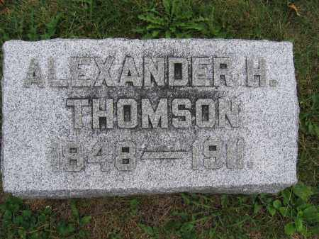 THOMSON, ALEXANDER H. - Union County, Ohio   ALEXANDER H. THOMSON - Ohio Gravestone Photos