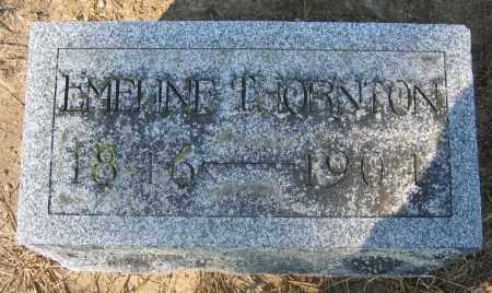 THORNTON, EMELINE - Union County, Ohio   EMELINE THORNTON - Ohio Gravestone Photos