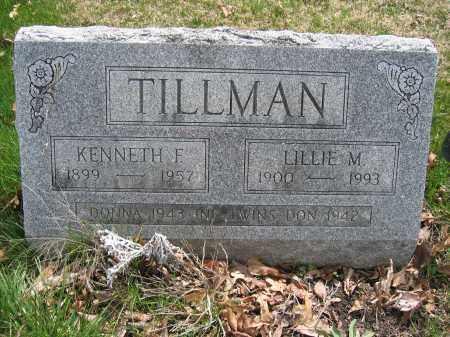TILLMAN, LILLIE M. - Union County, Ohio | LILLIE M. TILLMAN - Ohio Gravestone Photos