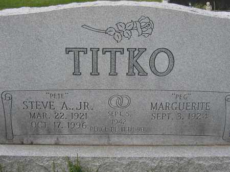 TITKO, STEVE A., JR - Union County, Ohio | STEVE A., JR TITKO - Ohio Gravestone Photos