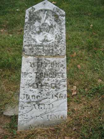 TONGUET, MARTHA - Union County, Ohio | MARTHA TONGUET - Ohio Gravestone Photos