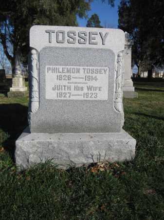 TOSSEY, PHILEMON - Union County, Ohio | PHILEMON TOSSEY - Ohio Gravestone Photos