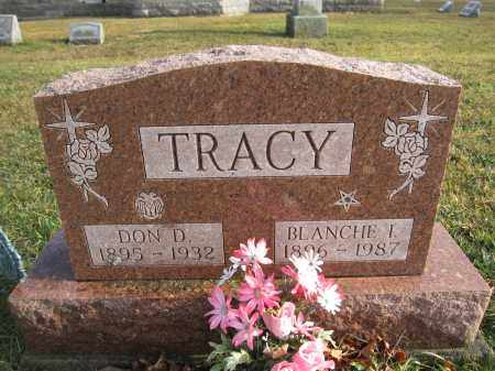 TRACY, BLANCHE I - Union County, Ohio | BLANCHE I TRACY - Ohio Gravestone Photos