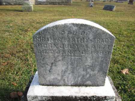 TRACY, FANNY - Union County, Ohio   FANNY TRACY - Ohio Gravestone Photos