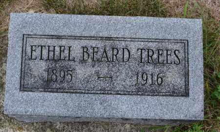 TREES, ETHEL BEARD - Union County, Ohio   ETHEL BEARD TREES - Ohio Gravestone Photos