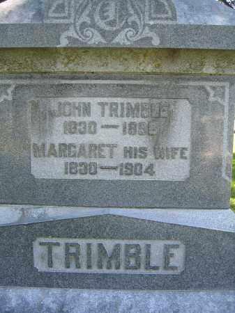 TRIMBLE, JOHN - Union County, Ohio | JOHN TRIMBLE - Ohio Gravestone Photos