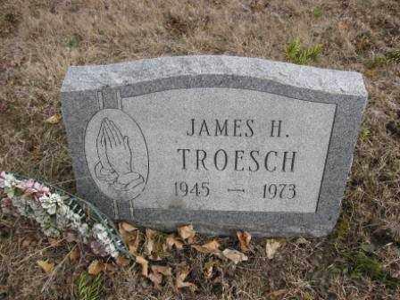 TROESCH, JAMES H. - Union County, Ohio | JAMES H. TROESCH - Ohio Gravestone Photos
