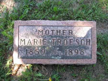 TROESCH, MARIE - Union County, Ohio | MARIE TROESCH - Ohio Gravestone Photos