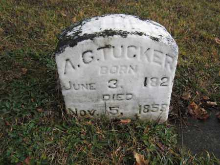 TUCKER, A.G. - Union County, Ohio | A.G. TUCKER - Ohio Gravestone Photos