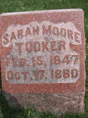 TUCKER, SARAH - Union County, Ohio   SARAH TUCKER - Ohio Gravestone Photos