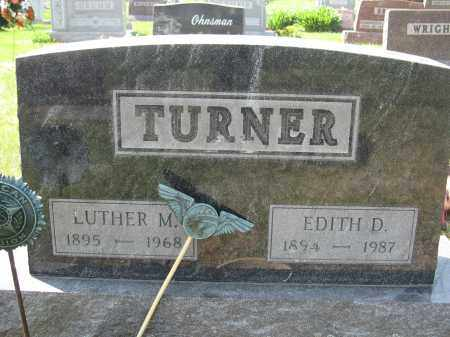 TURNER, LUTHER M. - Union County, Ohio | LUTHER M. TURNER - Ohio Gravestone Photos