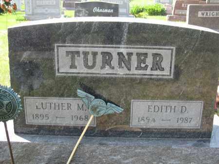 TURNER, EDITH D. - Union County, Ohio   EDITH D. TURNER - Ohio Gravestone Photos