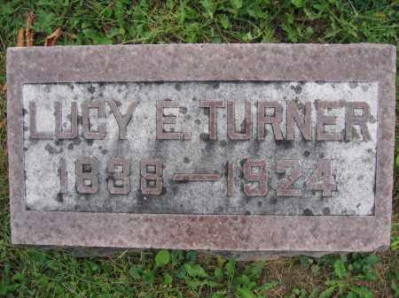 TURNER, LUCY E. - Union County, Ohio   LUCY E. TURNER - Ohio Gravestone Photos