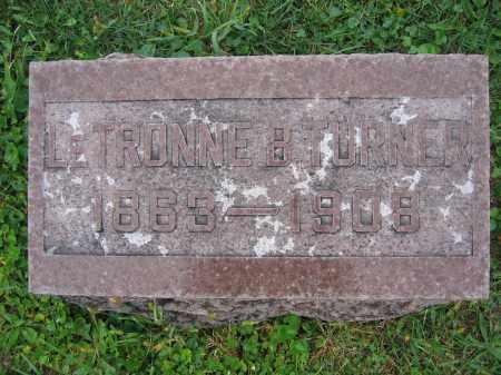 TURNER, LETRONNE B. - Union County, Ohio   LETRONNE B. TURNER - Ohio Gravestone Photos