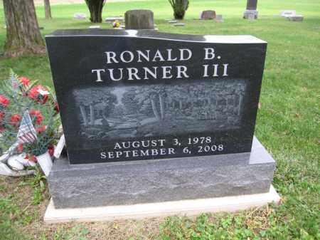 TURNER, RONALD B. - Union County, Ohio   RONALD B. TURNER - Ohio Gravestone Photos