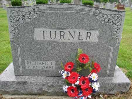 TURNER, RICHARD L. - Union County, Ohio | RICHARD L. TURNER - Ohio Gravestone Photos