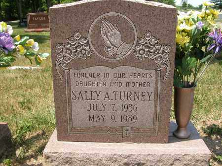 TURNEY, SALLY A. - Union County, Ohio   SALLY A. TURNEY - Ohio Gravestone Photos