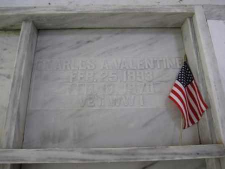 VALENTINE, CHARLES A. - Union County, Ohio | CHARLES A. VALENTINE - Ohio Gravestone Photos