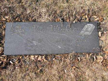 VAN WINKLE, NADINE CLARK - Union County, Ohio | NADINE CLARK VAN WINKLE - Ohio Gravestone Photos