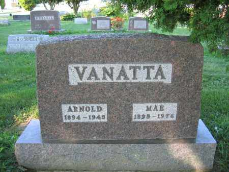 VANATTA, MAE - Union County, Ohio | MAE VANATTA - Ohio Gravestone Photos