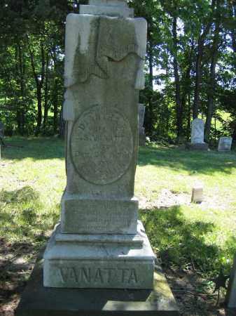 VANATTA, DIANTHA R - Union County, Ohio | DIANTHA R VANATTA - Ohio Gravestone Photos
