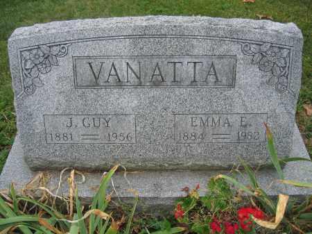 VANATTA, J. GUY - Union County, Ohio | J. GUY VANATTA - Ohio Gravestone Photos