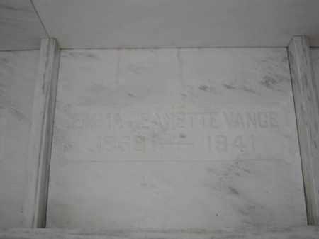 VANCE, EMMA JEANETTE - Union County, Ohio | EMMA JEANETTE VANCE - Ohio Gravestone Photos