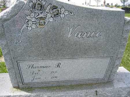 VANCE, SHERMAN R. - Union County, Ohio   SHERMAN R. VANCE - Ohio Gravestone Photos